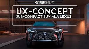 2018 lexus ux. perfect lexus subcompact suv lexus ux diproduksi 2018 with lexus ux