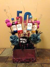funny 50th birthday gift ideas birthday basket by more