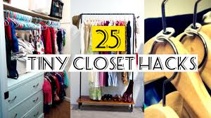 Organize Small Bedroom Closet 25 Organizing Small Closet Ideas Youtube