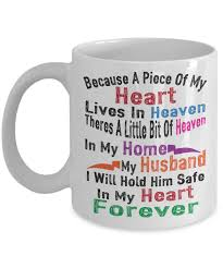 memorable gifts for husband boyfriend man heaven coffee mug tea cup
