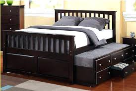 Trundle Beds Queen Size Queen Trundle Bed Queen Trundle Bed Drawers ...