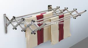 Wall Clothes Hanger wall mounted folding laundry rack, wall mounted folding  laundry