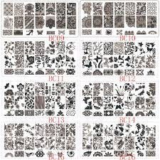 1pcs NEW Lace Flowers Nail Art Stamp Stamping Image Plate 6*12cm ...