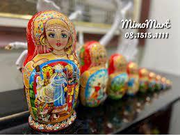Búp bê Nga Matryoshka - Lật Đật Nga - Home