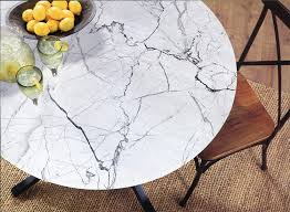 com brielle 807000232055 tablecloth 42 round marble kitchen dining