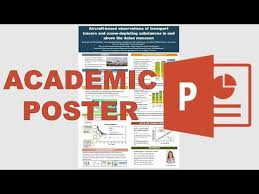 Making Posters With Powerpoint How To Make An Academic Poster In Powerpoint Youtube