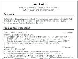 Resume Summary Customer Service – Slint.co