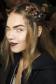 rodarte fall 2016 ready to wear fashion show beauty