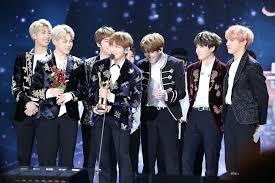 Bts Gaon Chart Kpop Awards 2018 Liste Der Auszeichnungen Und Nominierungen Von Bts Wikipedia