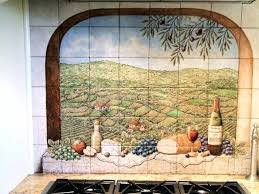 Mural Tiles For Kitchen Decor Mural Tiles For Kitchen Decor Tile Contemporary Murals C Throughout 86