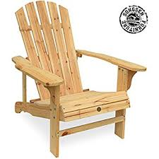 outdoor wooden chairs with arms. songsen outdoor log wood adirondack lounge chair patio deck garden furniture - natural wooden chairs with arms t