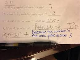 Answer Test 41 Test Answers That Should Be Marked Right Even Though Theyre Wrong