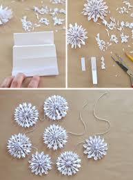 make 3D snowflakes