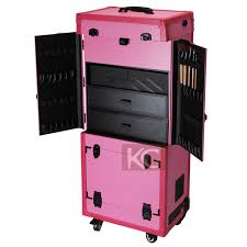 vanity box pofessional trolley makeup aluminum carrying case makeup lighting studio