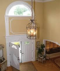 foyer chandelier height 2 story house design pic