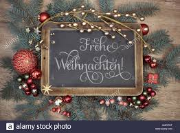 Merry Christmas In German High Resolution Stock Photography and Images -  Alamy