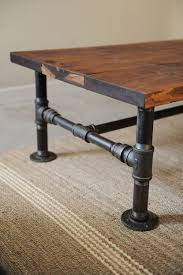 diy industrial coffee table for man