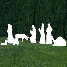 outside nativity set outdoor wooden nativity set lawn nativity set lawn nativity set silhouette white outdoor outside nativity set