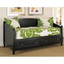 Home Styles Bedford Storage Daybed, Black