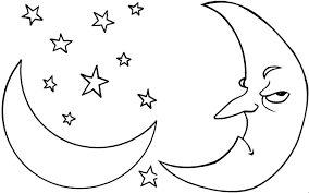 Small Picture moon coloring sheets free printable moon coloring pages for kids
