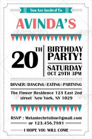 invitation party templates birthday invitation email template 27 free psd eps format