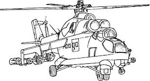 Military Coloring Pages Apache Kids Ideas