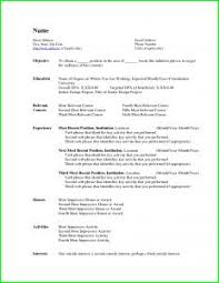 Awesome Combination Resume Template Word B4 Online Com