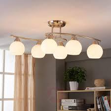 dining room ceiling light svean 6 bulbs