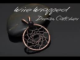 Wire Wrap Dream Catcher Tutorial Wire Wrap Tutorial DREAMCATCHER PENDANT YouTube 1