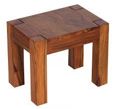 3er Set Satztisch Mumbai Massiv Holz Sheesham Wohnzimmer Tisch Landhaus Stil Beistelltisch Dunkel Braun Naturholz