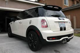 Post pics of your R56 w/ black wheels! - North American Motoring