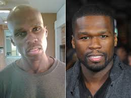 things fall apart star 50 cent releases photos of shocking 50 pound weight