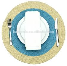 round straw natural dining table mat snatural on placemats bulk