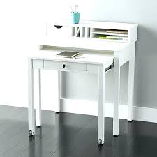 roll away desk small roll away desk roll away desk white solid wood roll out desk