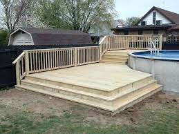 above ground pool decks.  Above Opening Above Ground Pool Amazing Ideas With Decks  Treating First  On Above Ground Pool Decks