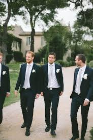 Black Suit Light Grey Tie Dark Blue Suit Light Grey Tie Black Groomsmen Suits