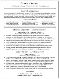Free Truck Driver Resume Example Truck Driver Resume Te Fabulous