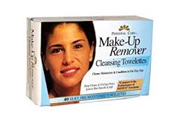 pc make up remover cleansing towelettes 40 count