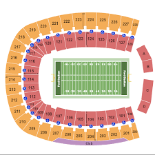 Ford Stadium Seating Chart Gerald J Ford Stadium Seating Chart Dallas