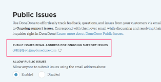 How To Use Email How To Use Donedone To Manage Your Customer Support Email Donedone