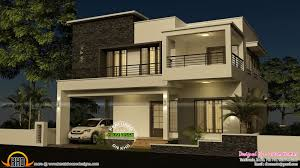 4 bedroom modern house with plan kerala home design and for modern 4 bedroom house designs