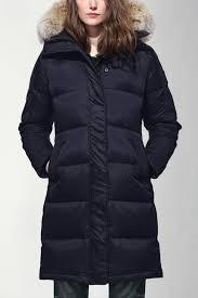 women s rowley parka black label canada goose