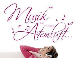 Wandtattoo Musik Ist Meine Atemluft Wandtattoode