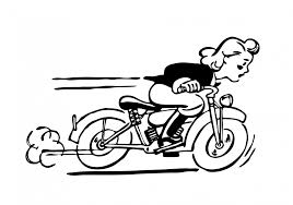 Motorcycle clipart cartoon 76