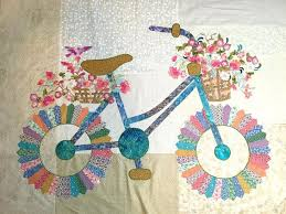 Dresden Plate Quilt Pattern Impressive Dresden Plates Made Into A Bicycle Quilting Digest
