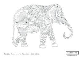 Free Zentangle Animal Coloring Pages Bltidm