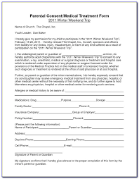 Free Printable Child Medical Consent Form Notarized Form Resume Interesting Printable Medical Release Form For Children