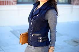 vest rebecca taylor on in cream sweater dress bcbg bag linea pelle