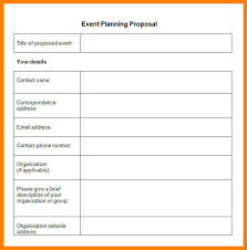 6 Event Business Plan Template Free Business Opportunity Program