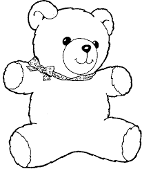 Small Picture Teddy Bear Coloring Sheets New With Picture Of Teddy Bear 4 2372